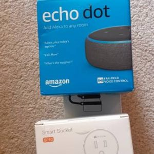 Amazon echo dot + outdoors plugins